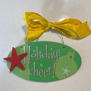 Holiday Cheer Sign